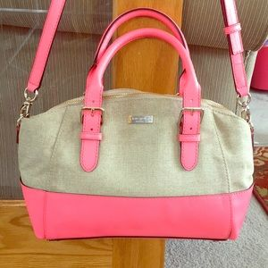♠️Kate spade pink sand leather small Sloan NWT ♠️